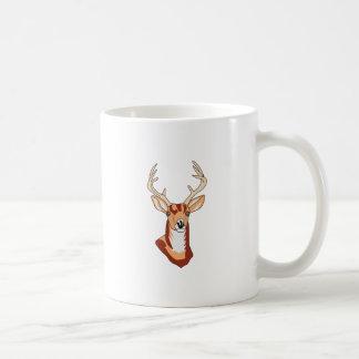 Rotwild-Kopf Kaffeetasse