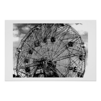 Roue de Ferris Poster