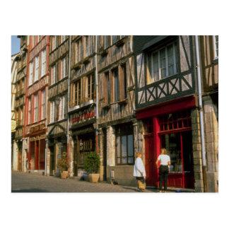 Rouen, Frankreich Postkarte