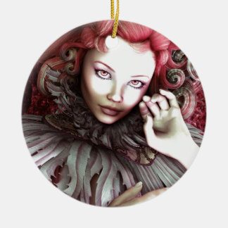 """Rouge-"" Kunst-Druck Keramik Ornament"
