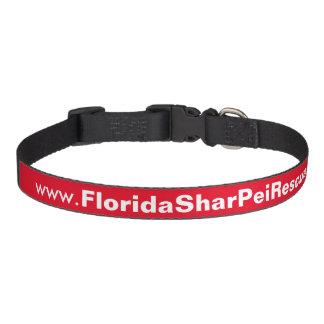 Rouge moyen de collier de chien de FSPR