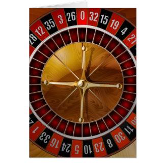 Roulette-Rad Karte