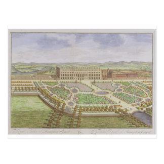 Royal Palace des Hampton Court, 'von der Übersicht Postkarte