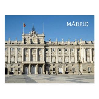 Royal Palace, Madrid-Postkarte Postkarte