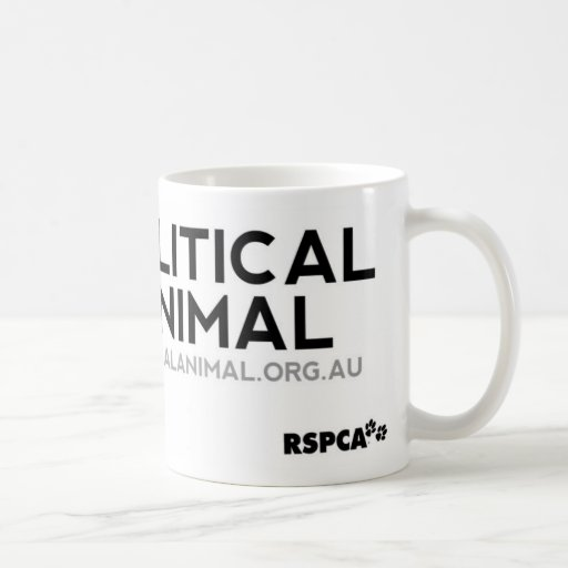 RSPCA politische TierTasse Tee Tassen