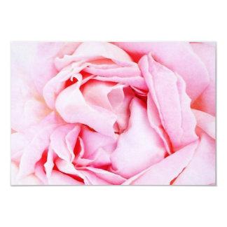 Rsvp de rose de rose avec l'enveloppe carton d'invitation 8,89 cm x 12,70 cm