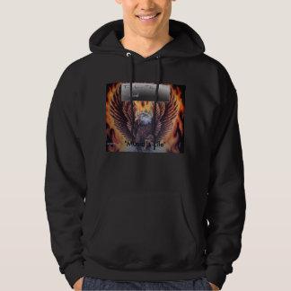 """rtf-1, """"musique est la vie """" sweatshirt à capuche"""
