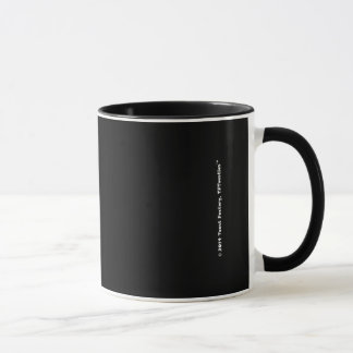 Ruan Toastie schwarze Tasse