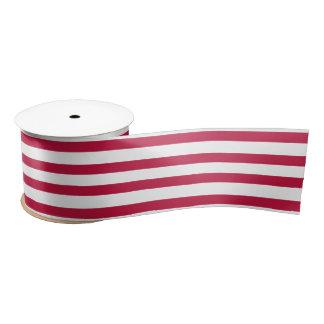 Ruban En Satin Ruban blanc rouge patriotique d'enveloppe de