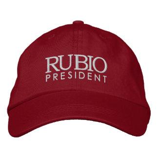 Rubio für Präsidenten 2016 Bestickte Baseballkappe