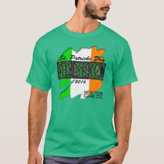 Rubout Flagge St. Pats Ny Camouflage-Co irisches T-Shirt