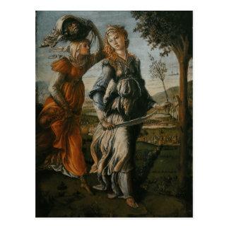 Rückkehr von Judith zu Bethulia durch Botticelli Postkarte