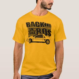 Rückseite Pontiacs Fiero im 80er Grafik-T - Shirt