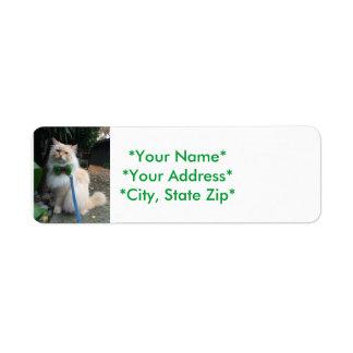 Rücksendeadressen-Aufkleber Kleiner Adressaufkleber