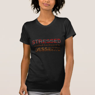 Rückwärts buchstabiert worden betont Nachtische T-Shirt