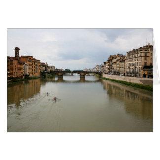 Rudern des Arnos Karte