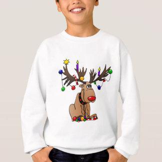 Rudolf das rote gerochene Ren Sweatshirt