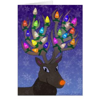 Rudolf-Weihnachtskarte Karte