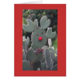 Rudolph-Kaktus Karte
