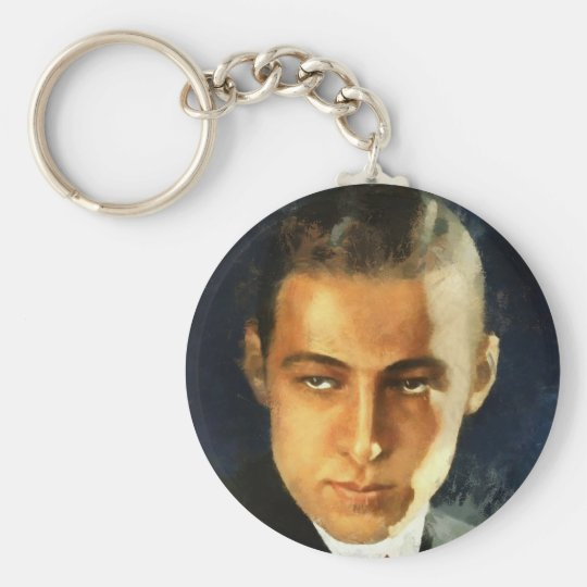 Rudolph Valentino Schlüsselanhänger