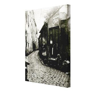 Rue du Jardinet et le cul-de-sac Toile Tendue