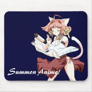 Rufen Sie Anime zusammen! mousepad