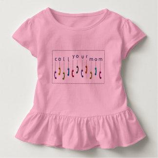 Rufen Sie Ihre Mamma an Kleinkind T-shirt