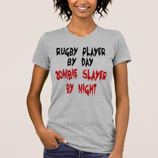 Rugby-Spieler-Zombie-Witz T-Shirt