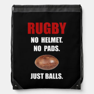 Rugbyballs Sportbeutel