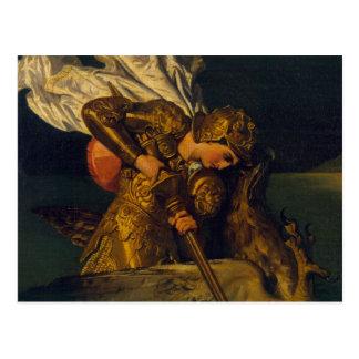 Ruggiero Rettungs-Angelika Postkarte