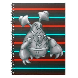 RUGU ROBOTER-MONSTER-ANMERKUNGS-BUCH NOTIZBLOCK