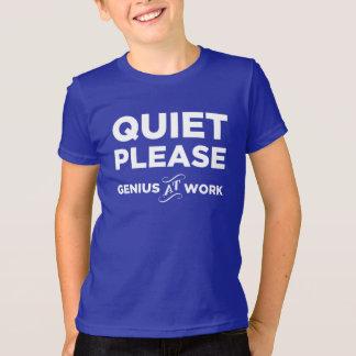 Ruhe-bitte Genie bei der Arbeit T-Shirt