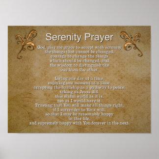 Ruhe-Gebet II -- Kunst-Druck Poster
