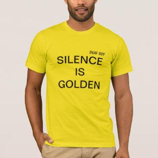 RUHE IST GOLDENER bequemer T - Shirt, helles Gelb T-Shirt