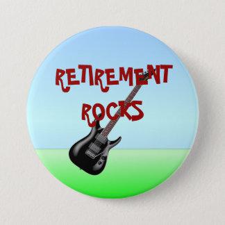 Ruhestands-Felsen Runder Button 7,6 Cm
