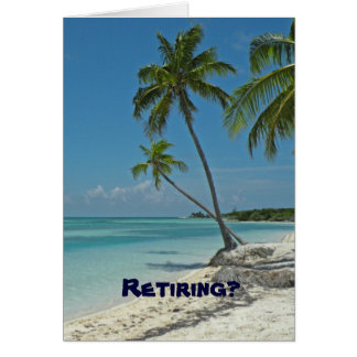 Ruhestands-Glückwunsch-Karte Grußkarte