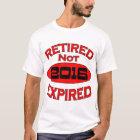 Ruhestands-Jahr-Geschenke 2016 T-Shirt