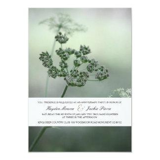 Ruhige Botanicals | Jahrestags-Party Einladung