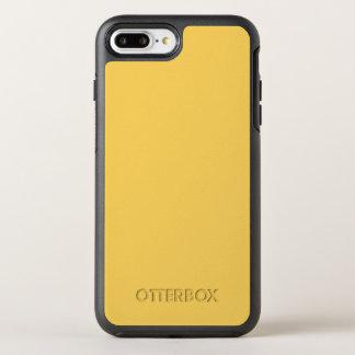 Ruhige Gelb-Farbe des Senf-Y07 OtterBox Symmetry iPhone 8 Plus/7 Plus Hülle