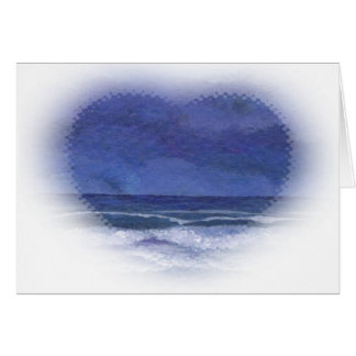 Ruhige Nächte in Meer- CricketDiane Ozean Kunst Karte