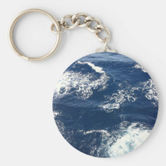 Ruhige Ozean-Wellen Schlüsselanhänger