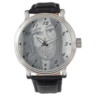 Ruhiger Jesus Uhren