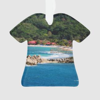 Ruhiges Insel-Paradies Labadee Haiti Ornament