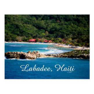 Ruhiges Insel-Paradies Labadee Haiti Postkarte