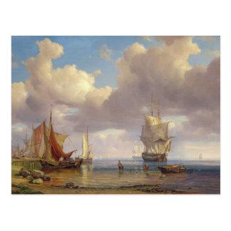 Ruhiges Meer, 1836 Postkarte
