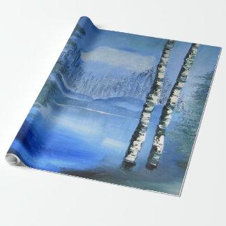 Ruhiges See-Packpapier Einpackpapier