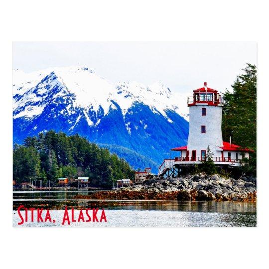 Ruhiges Sitka, Alaska Postkarte
