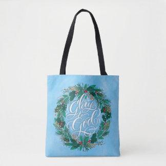 Ruhm WeihnachtsTaschen-Tasche zur Gottwreath-  Tasche