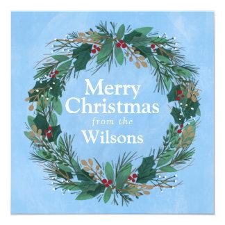 Ruhm zur quadratischen Weihnachtskarte des Karte