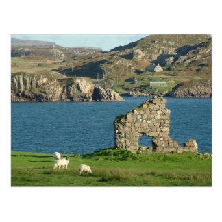 Ruine auf Iona Postkarte